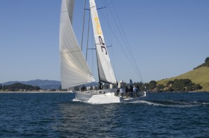 JP54 Maiden Sail, Tauranga Harbour and the Bay