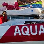 Aquarelle Transat Jacques Vabre 2011