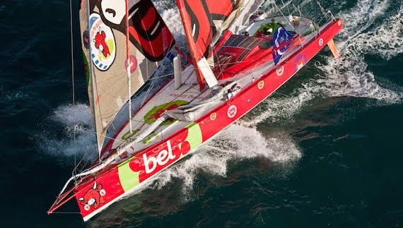 60 pieds imoca groupe Bel - Guillaume Verdier