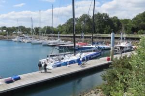 banque populaire 60 pieds mise à l'eau 2015 port laforet