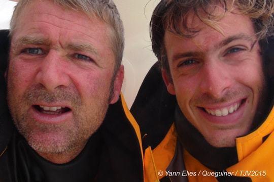 Yann Eliès et Charlie Dalin © DR