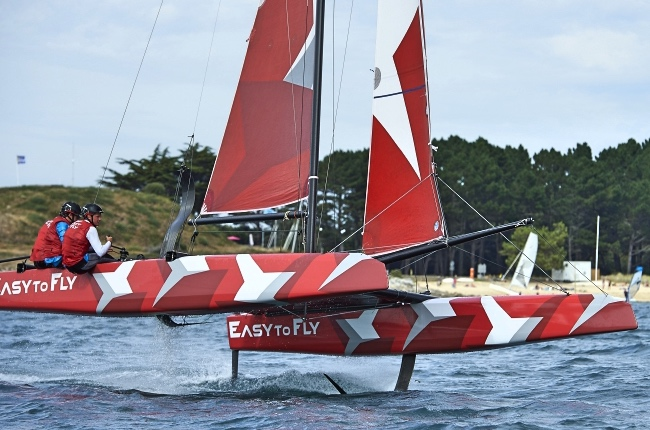 easy to fly - foil - Guillaume Verdier
