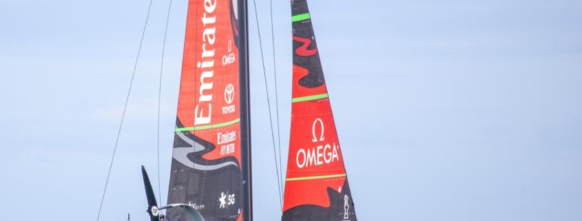 AC75 Emirates Team New Zealand