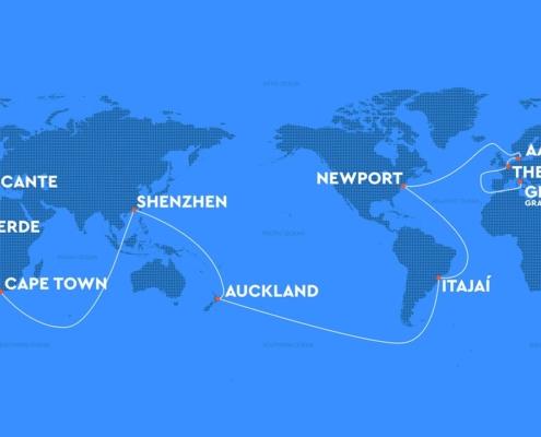 The Ocean Race- parcours